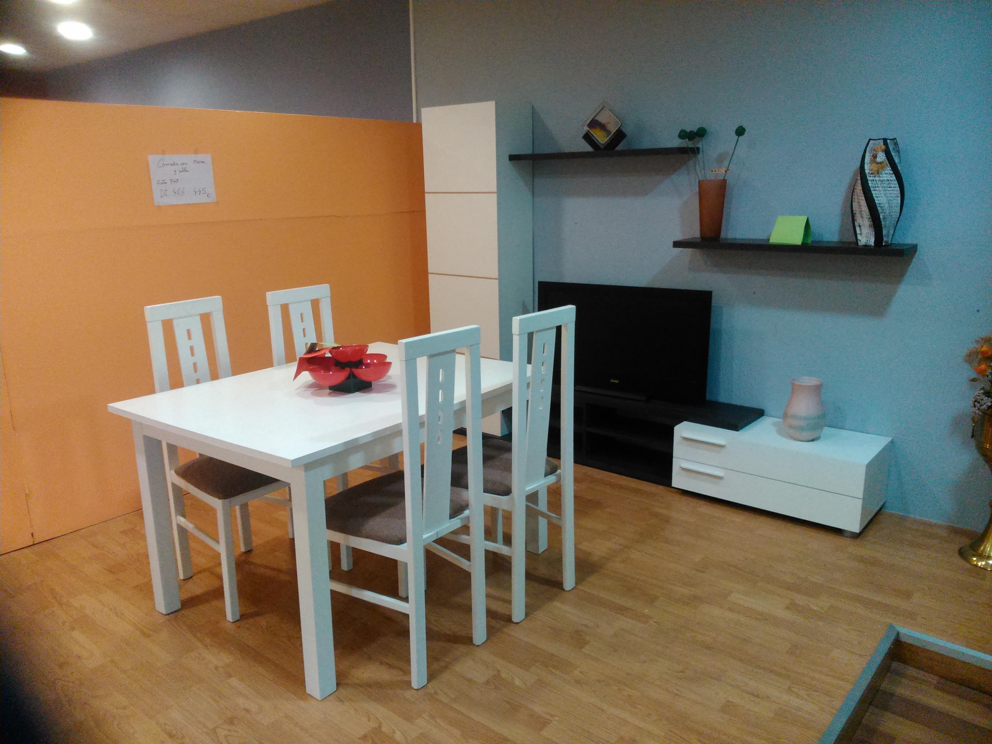 Conjunto comedor exposici n 01 muebles vinaroz for Conjunto muebles comedor