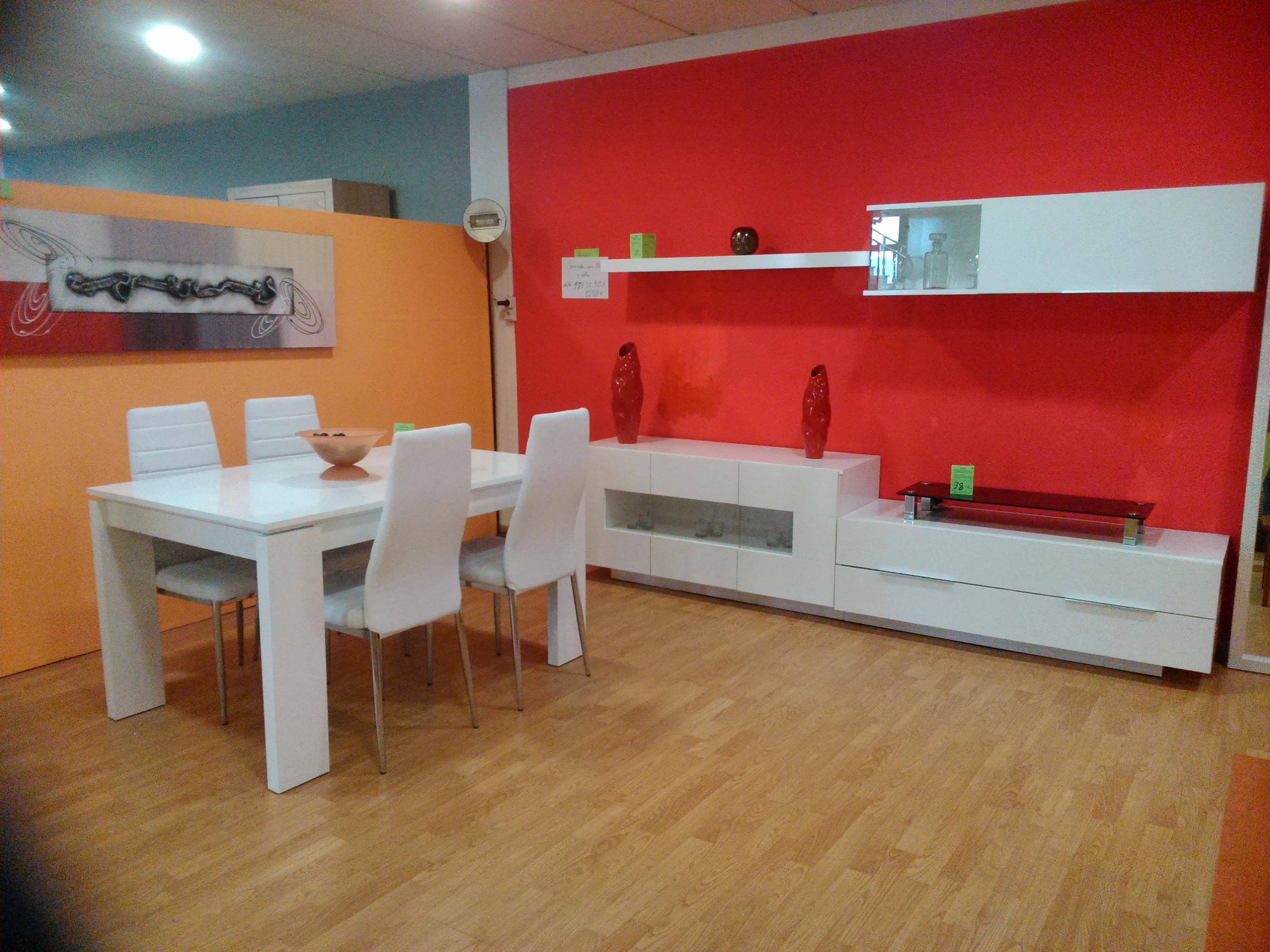 Conjunto comedor exposici n 03 muebles vinaroz for Conjunto muebles comedor