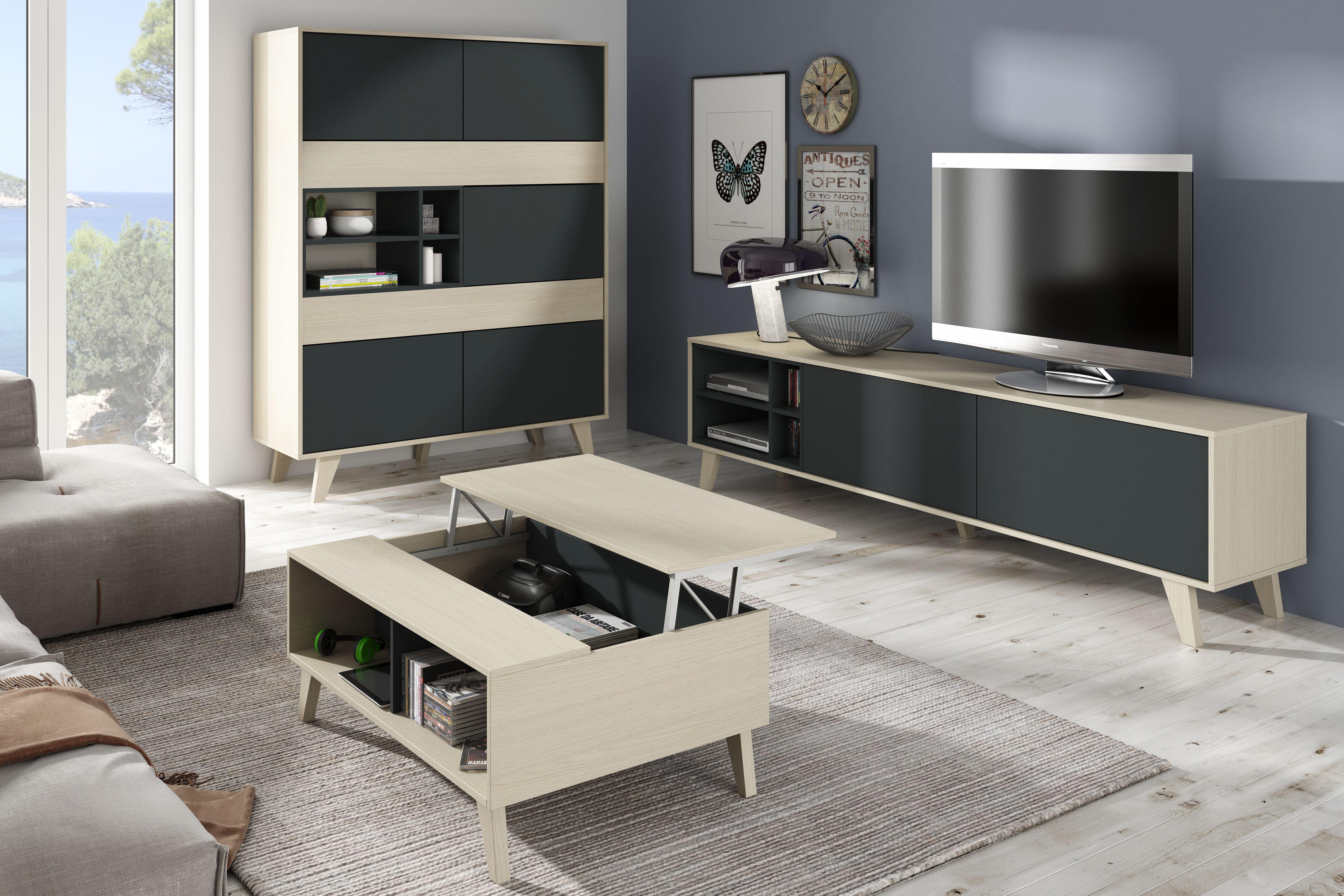M dulo tv zaiken muebles vinaroz tienda muebles barcelona for Muebles tv barcelona